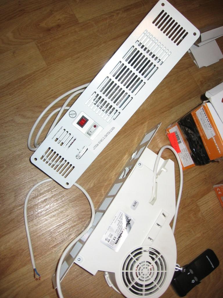 ogrzewacz elektryczny do kuchni farelka pod szafki