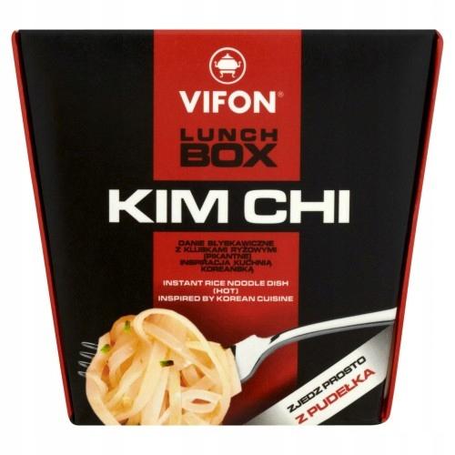 VIFON LUNCH BOX KIM CHI DANIE BŁYSK 85g PROMOCJA