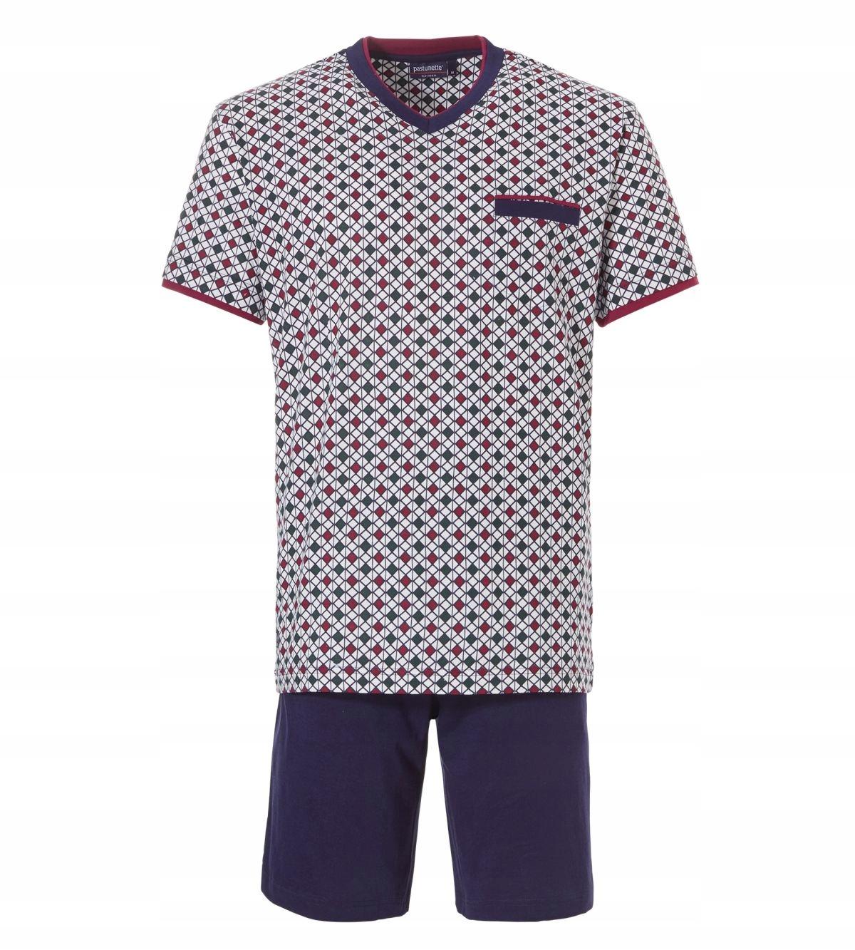 Pastunette Męska piżama bawełniana XXL