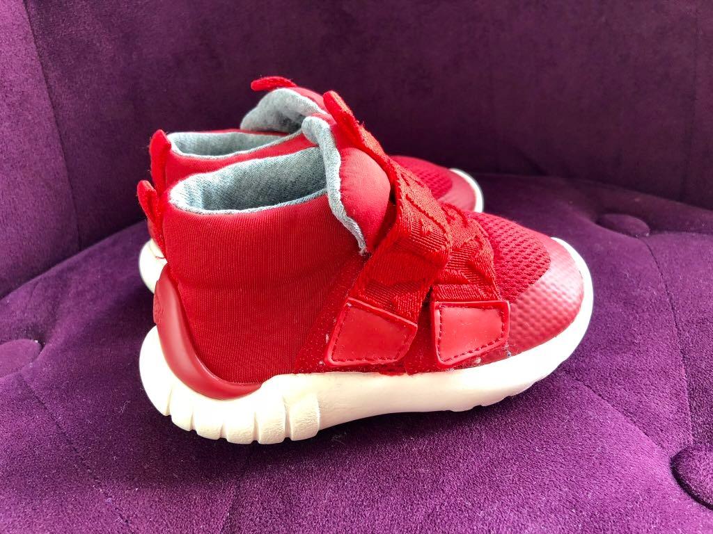 1bc7223f ZARA buciki dla chłopca sportowe czerwone 20 tanie - 7779546205 ...