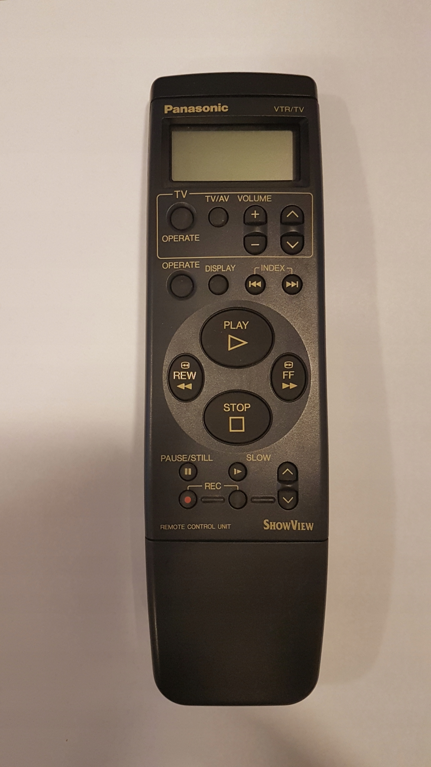 Pilot Panasonic VEQ1562 magnetowid VCR oryginał