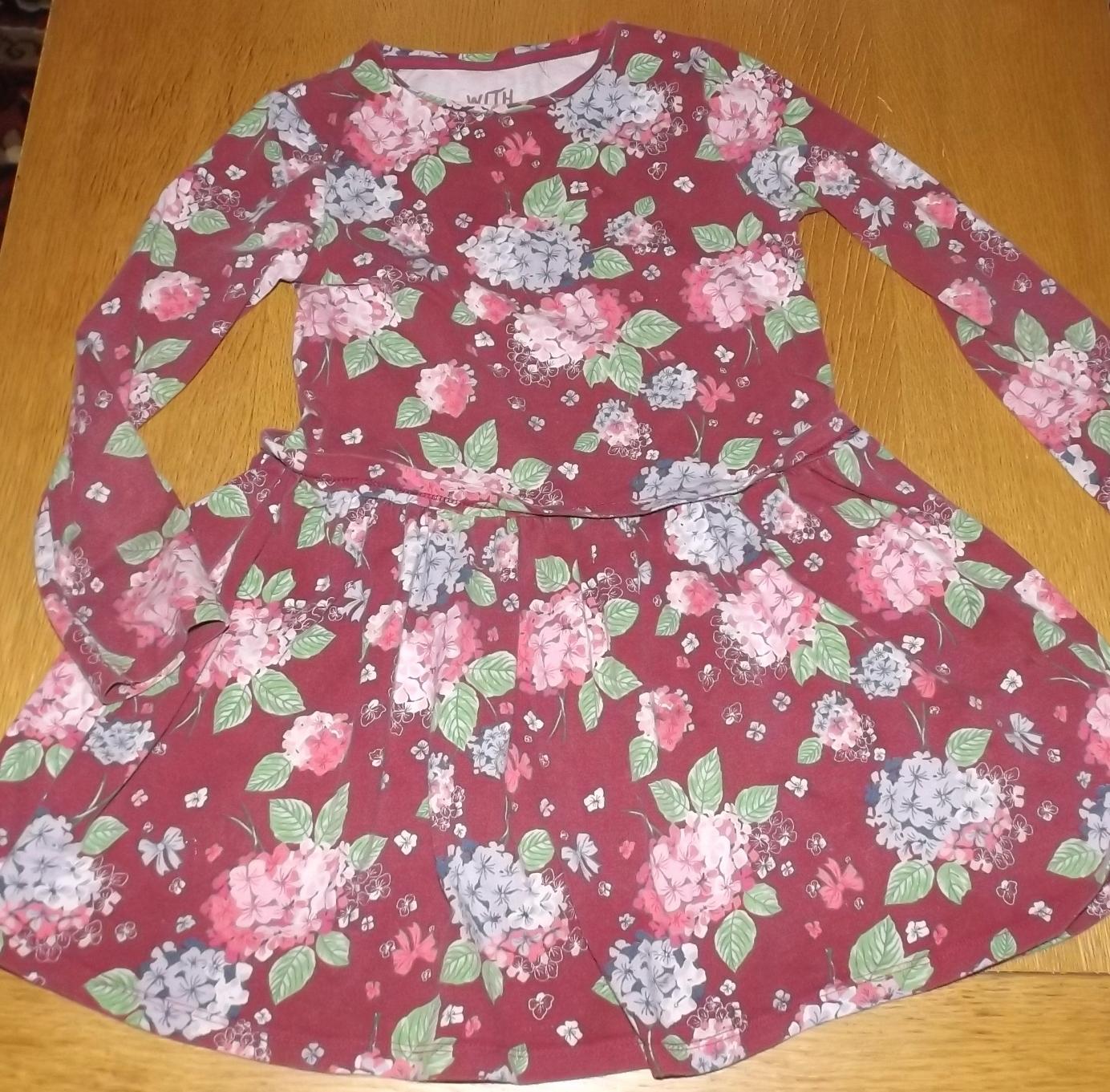 F&F sukienka dla dziewczynki 6-7 latki