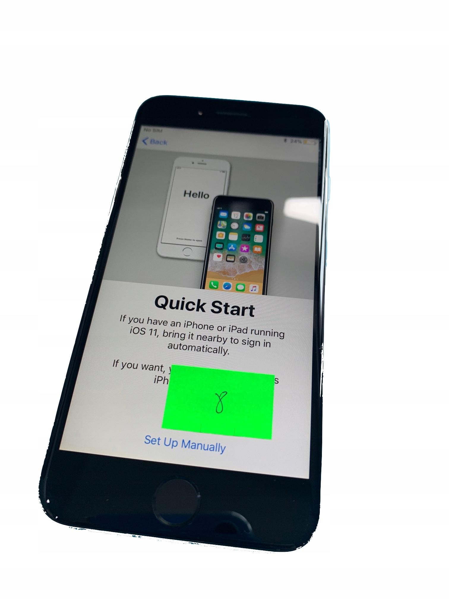 APPLE IPHONE 6 CZARNY WYSWIETLACZ ORYGINAL LCD8