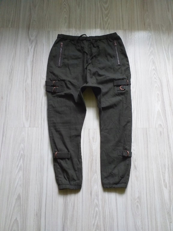 Spodnie męskie bojówki baggy ASOS W36 L32 jak nowe
