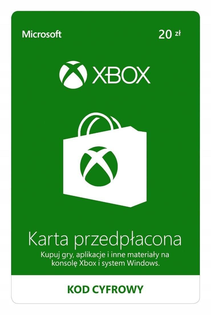 Xbox LIVE 20 zł