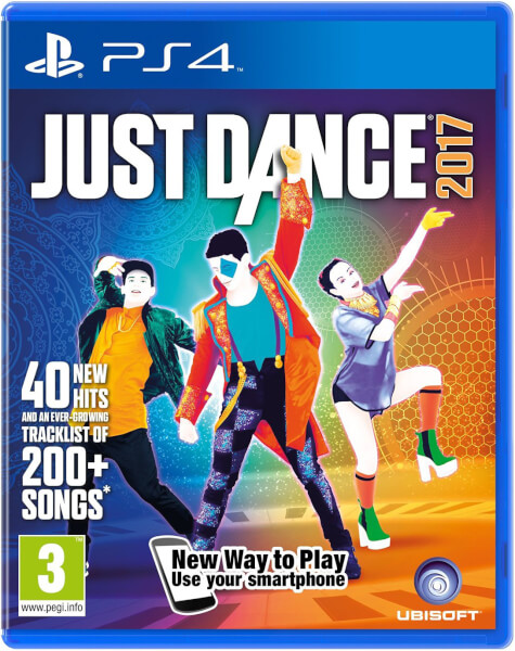 2x SONY PS4 MOVE + JUST DANCE 2017
