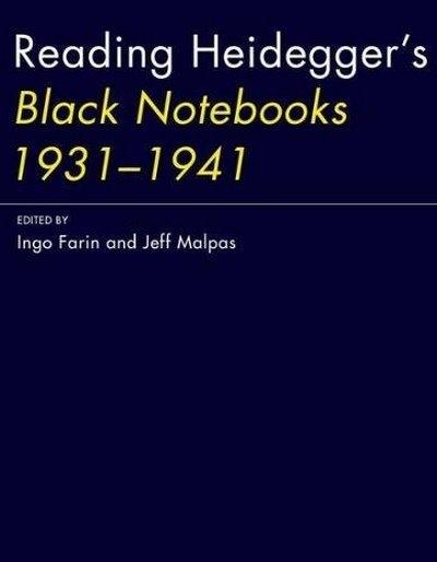 Reading Heidegger's Black Notebooks 1931--1941
