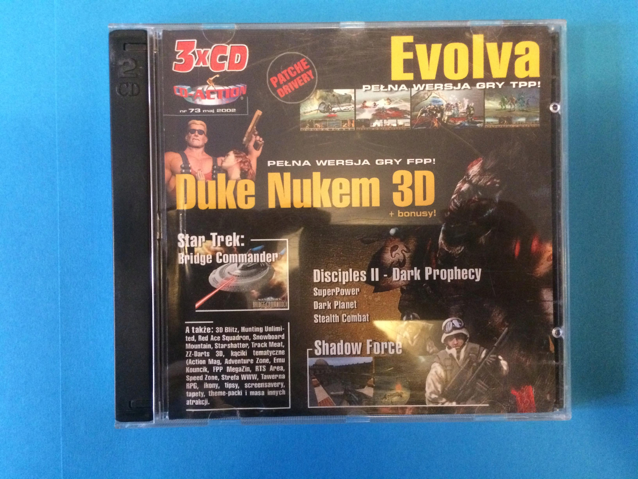 CD-ACTION 73: Duke Nukem 3D + Evolva