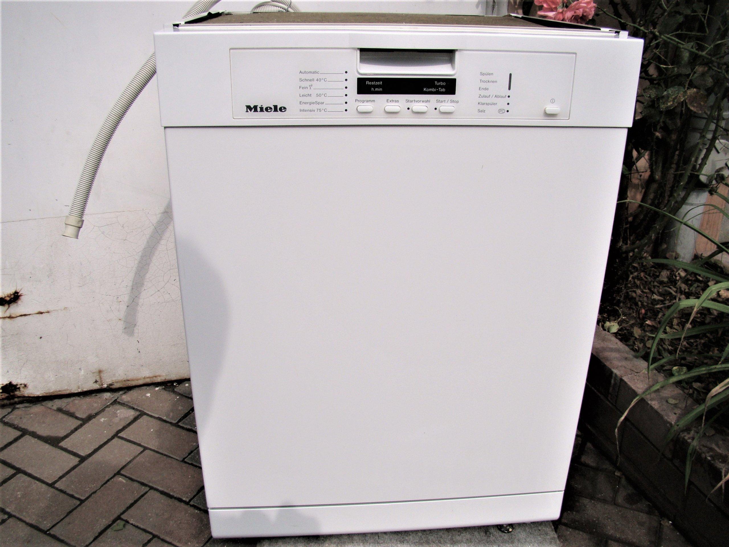 MieleG1225SC Zmywarka ECOTurbo wysoka jakość mycia