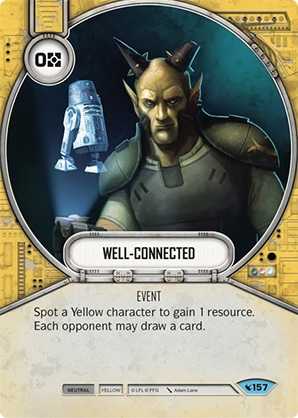 Star Wars Destiny - Well-connected