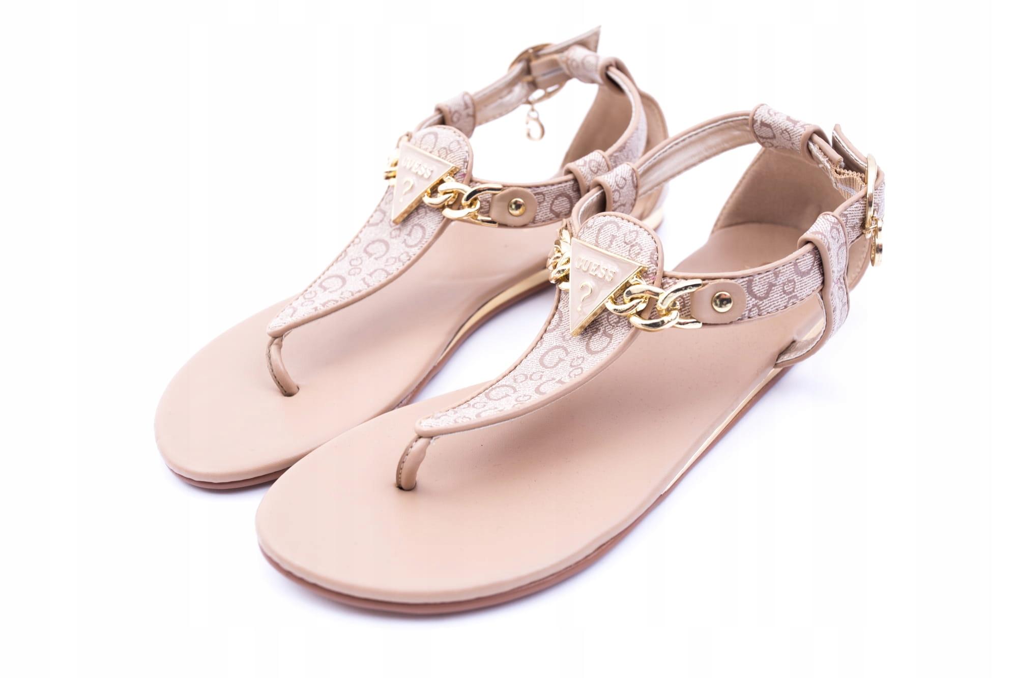 GUESS Sandały Klapki damskie buty GF SIARA r. 36,5