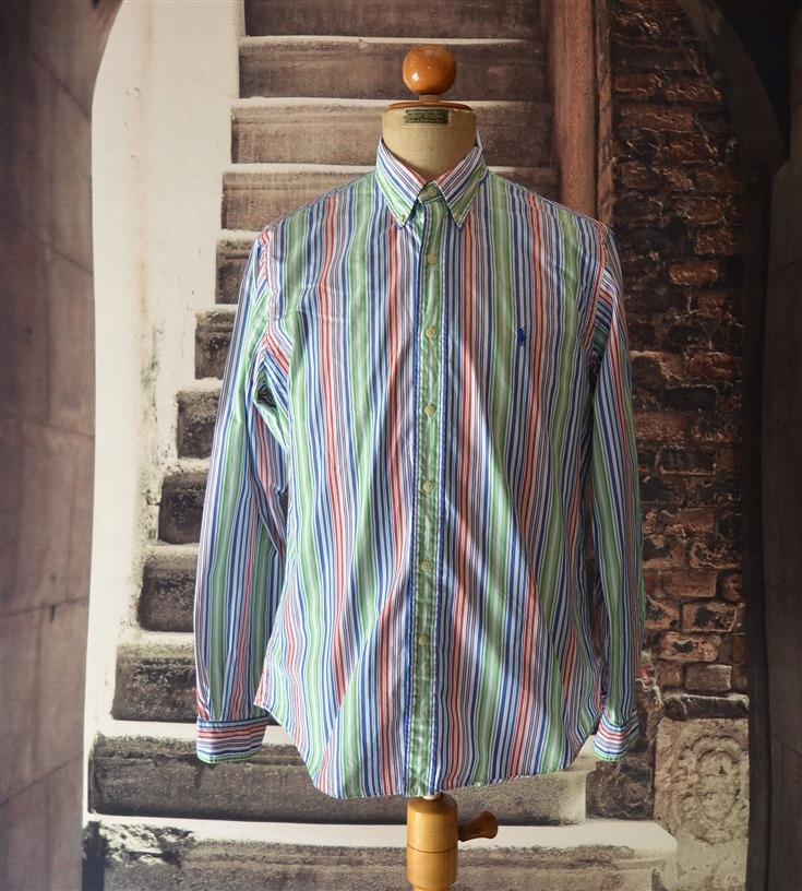Ralph Lauren ____ Custom Fit ___ koszula __ L