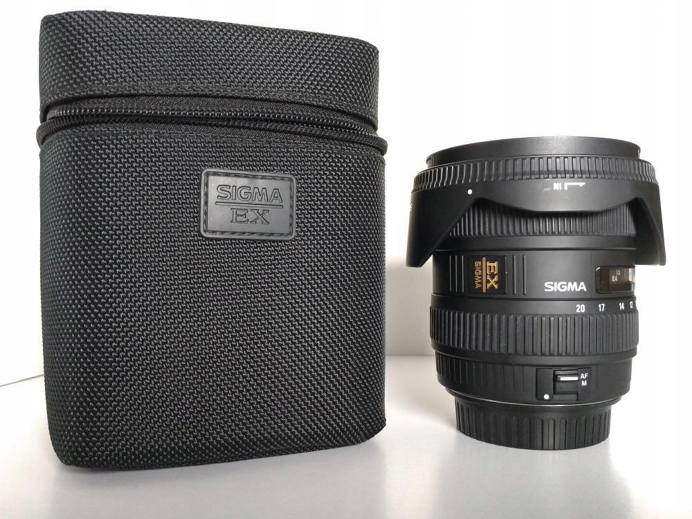 Sigma 10-20 F/4-5.6 EX DC HSM moc Canon SKLEP