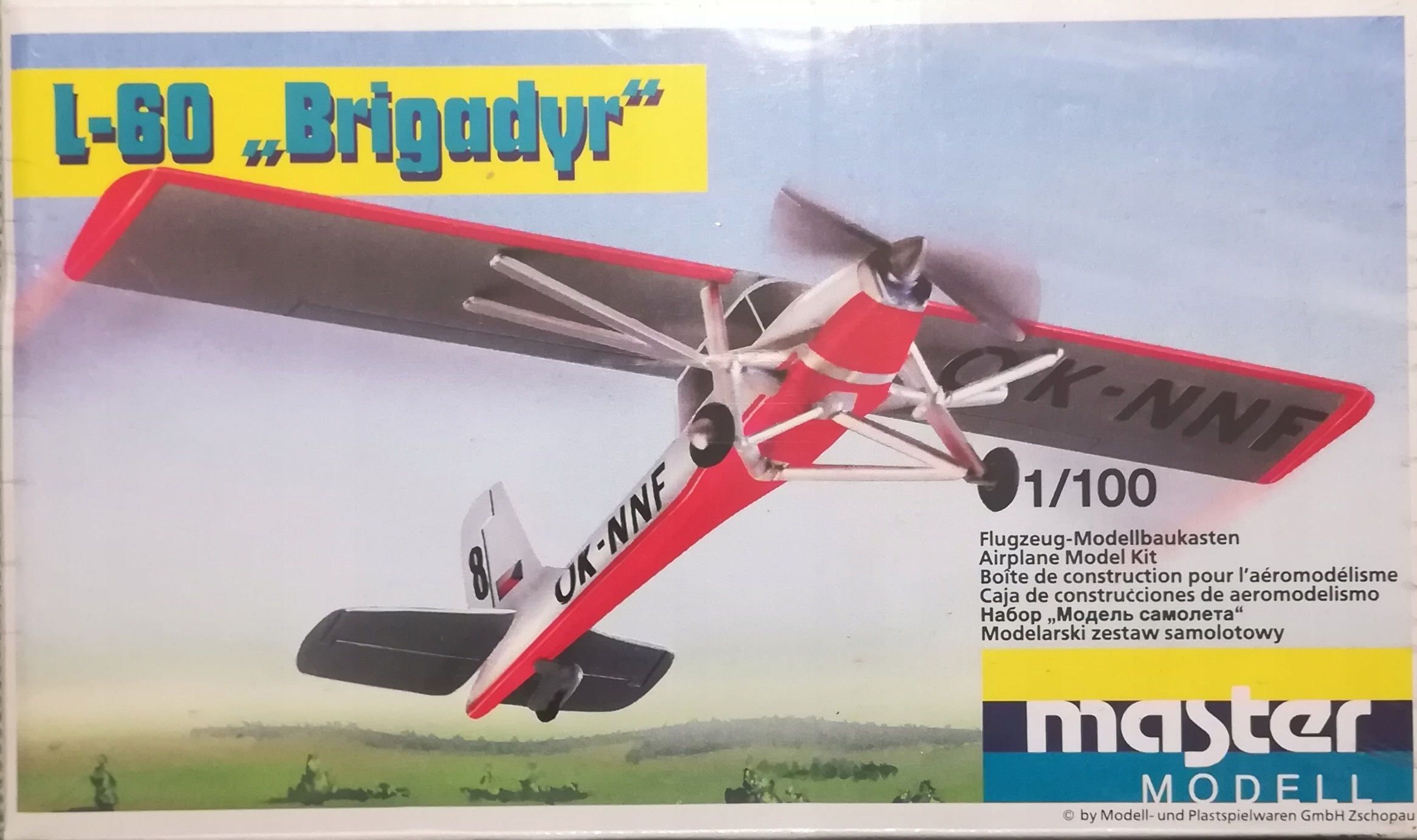 1:100 L-60 Brigadyr VEB Plasticart/Master Modell