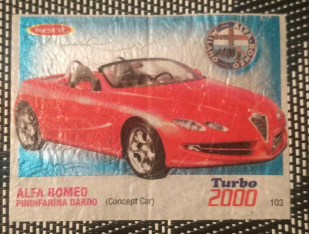 obrazek z gumy turbo 2000 kent nr 103