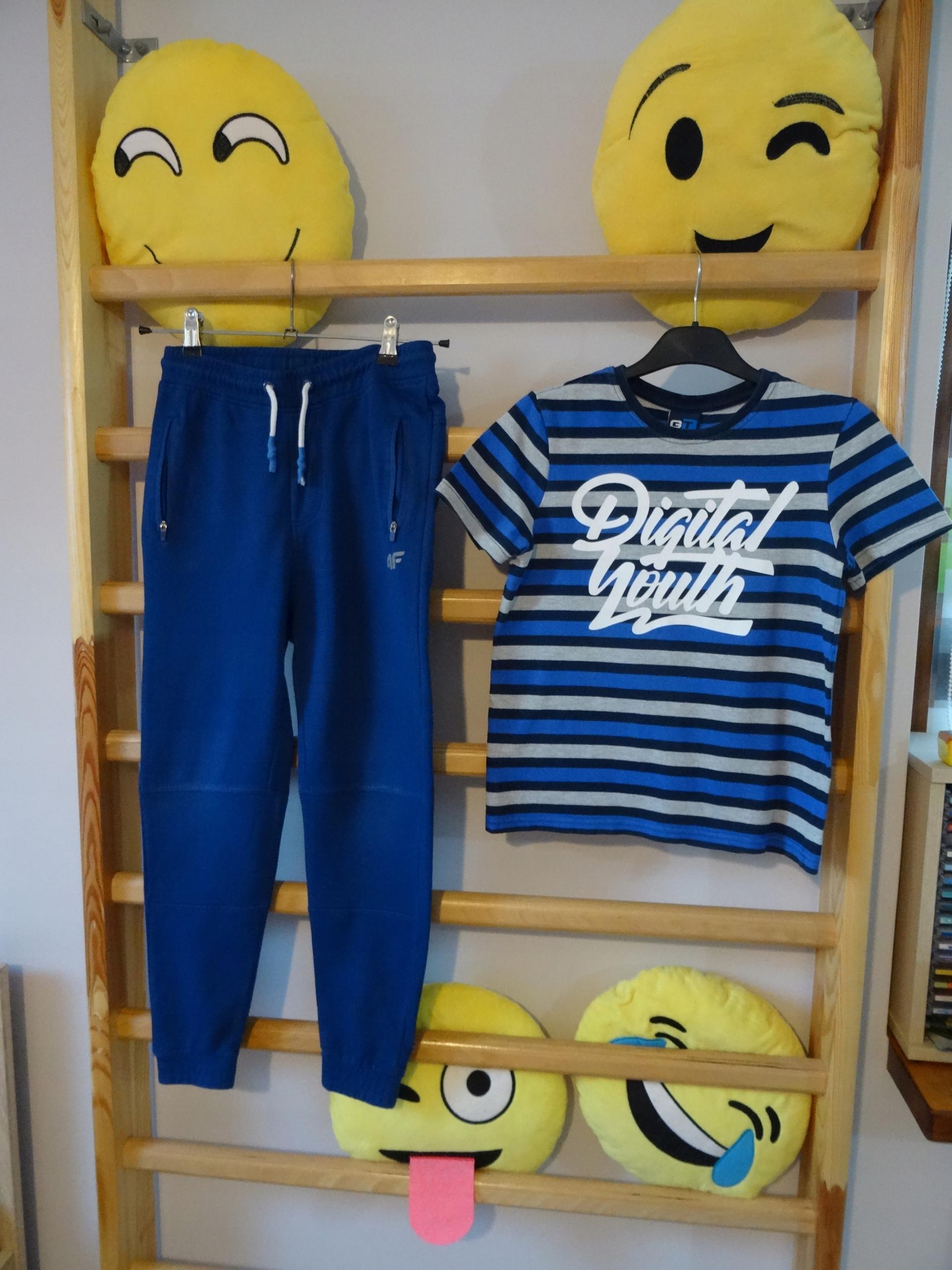 4F - spodnie dresowe + bluzka GT 134/140 ___TANIO