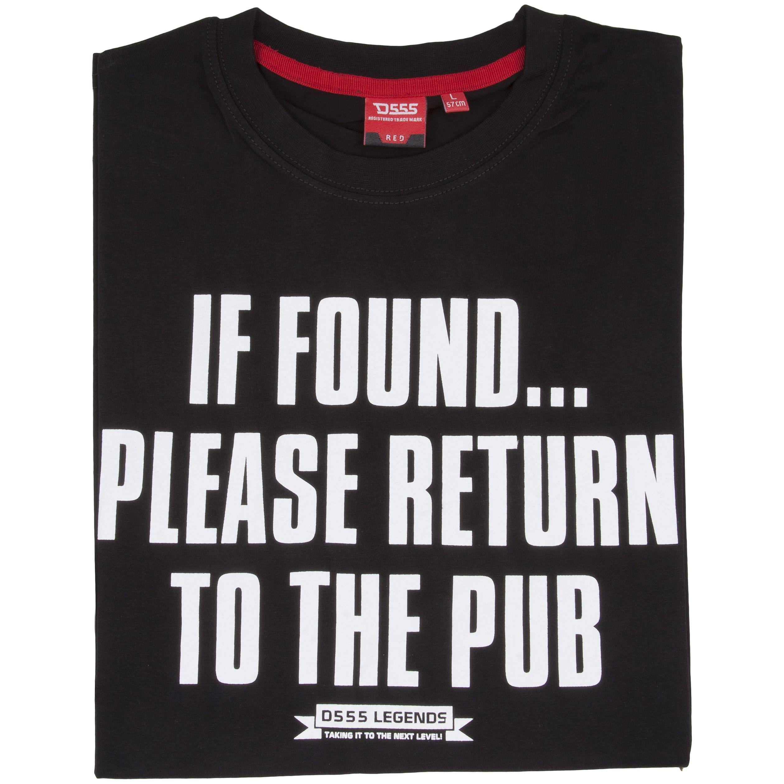 T-Shirt D555 ReturnToThePub-navy_obw_kl_114