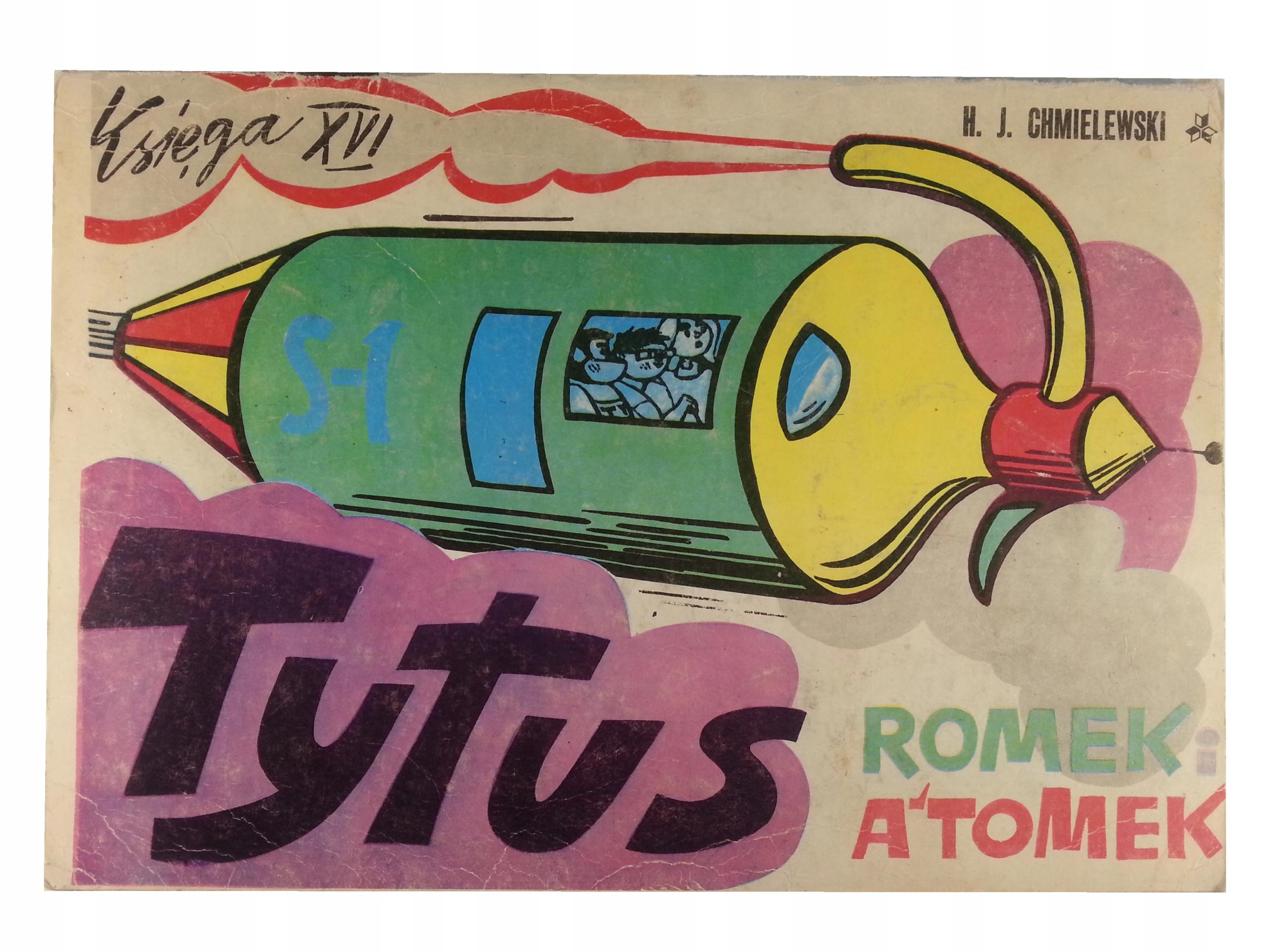 Komiks - TYTUS ROMEK I ATOMEK KSIĘGA XVI