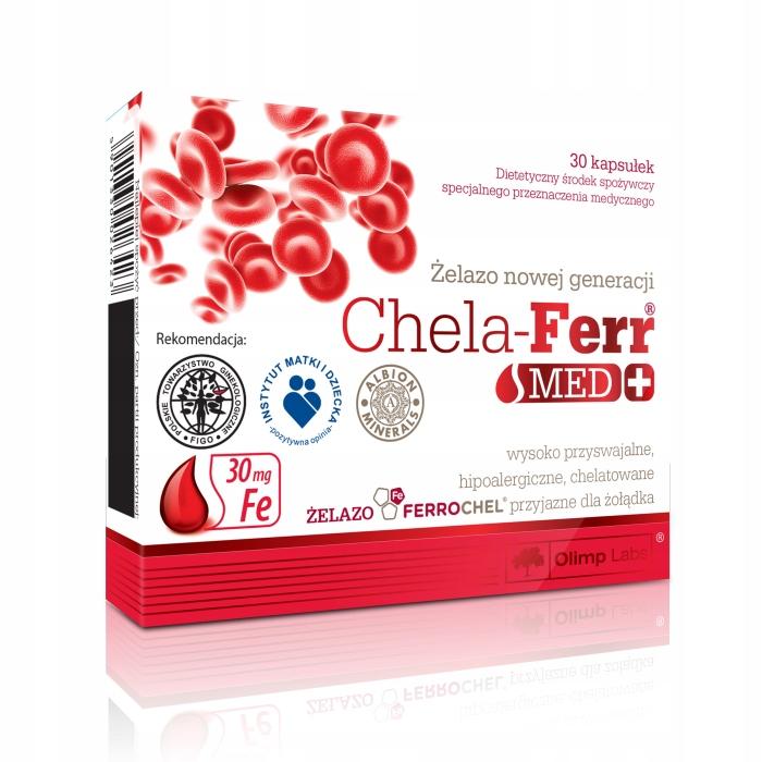 Chela-Ferr Med 30 kapsułek - Olimp Labs