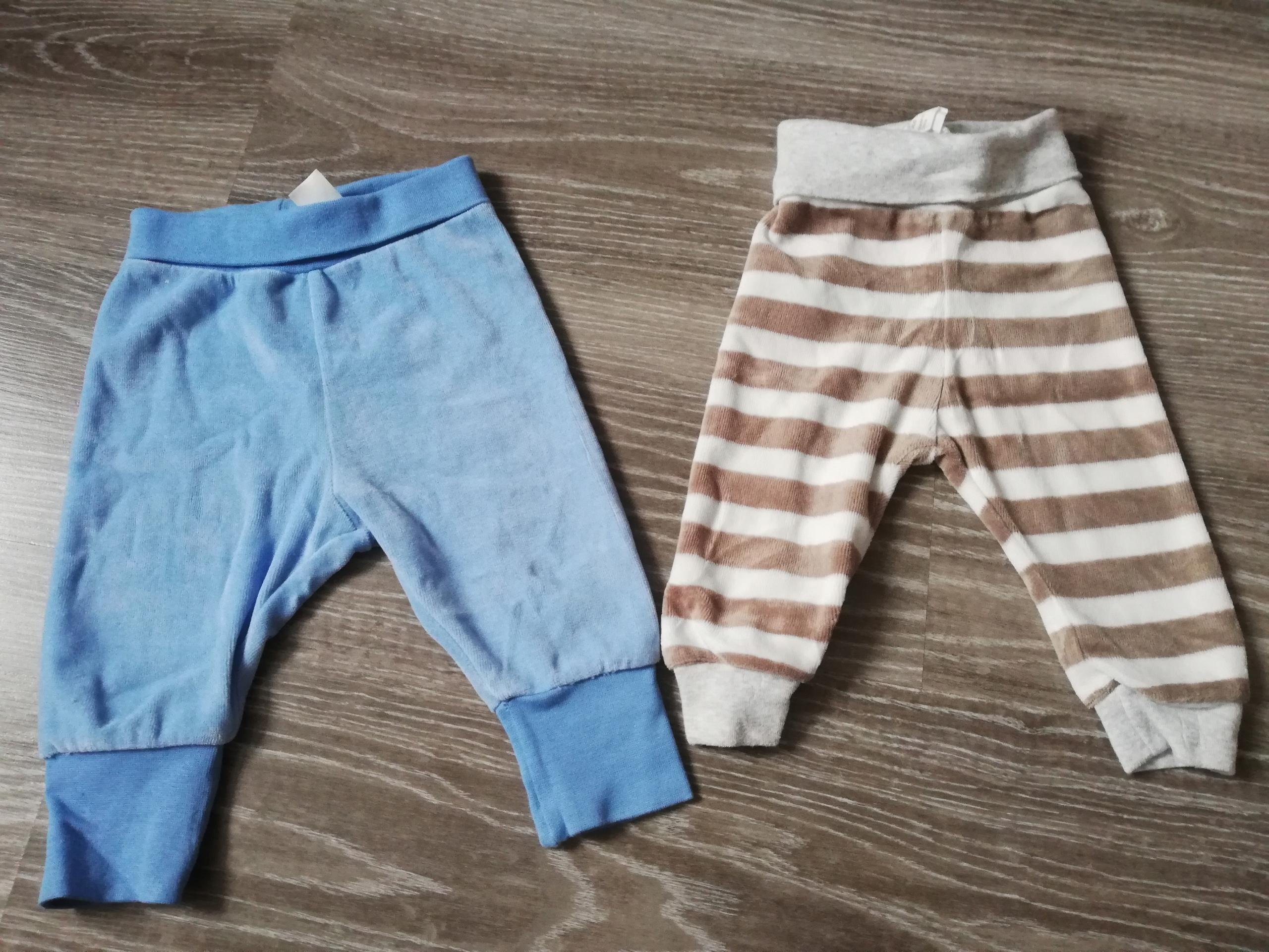 Ciepłe spodnie H&M roz 62