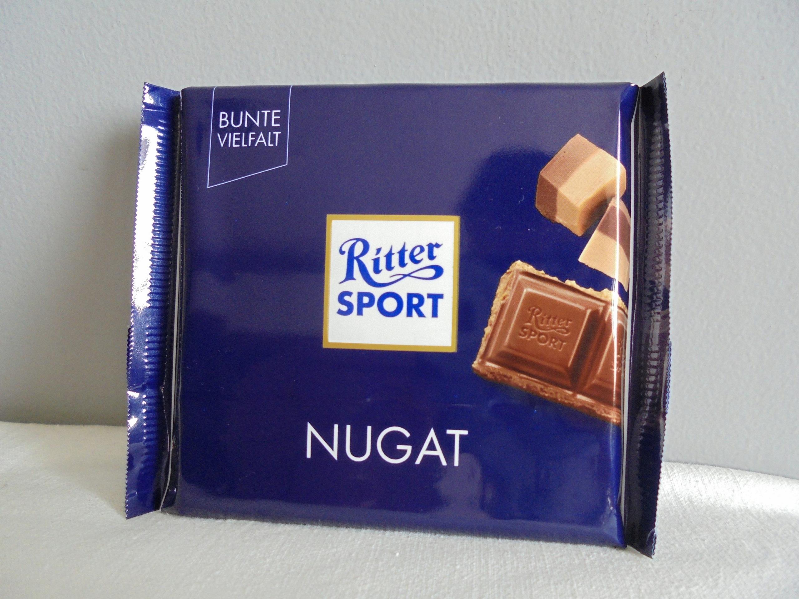 - RITTER SPORT - NUGAT - Z NIEMIEC -
