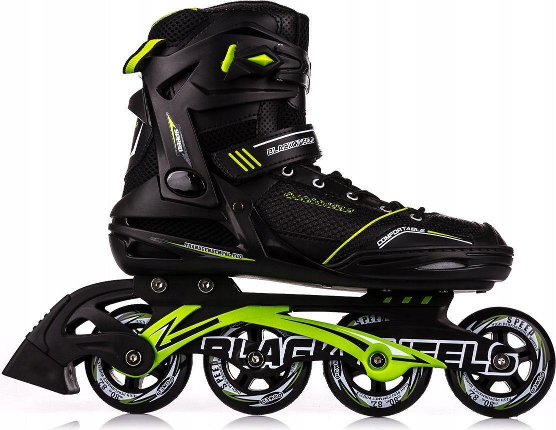 ROLKI fitness Slalom - Blackwheels roz. 45