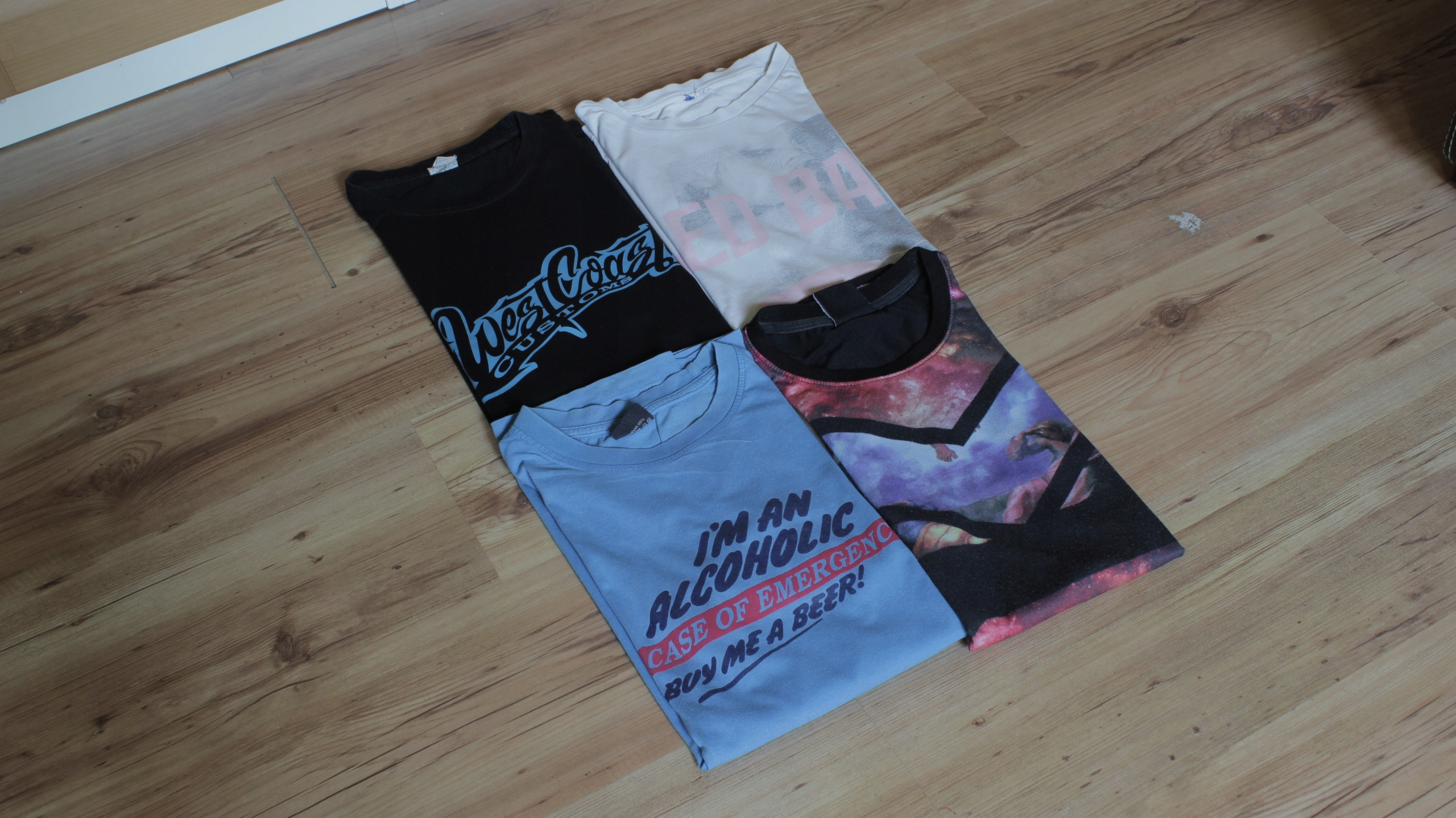BCM Paczka młodzieżowa bluzy t-shirty r. M