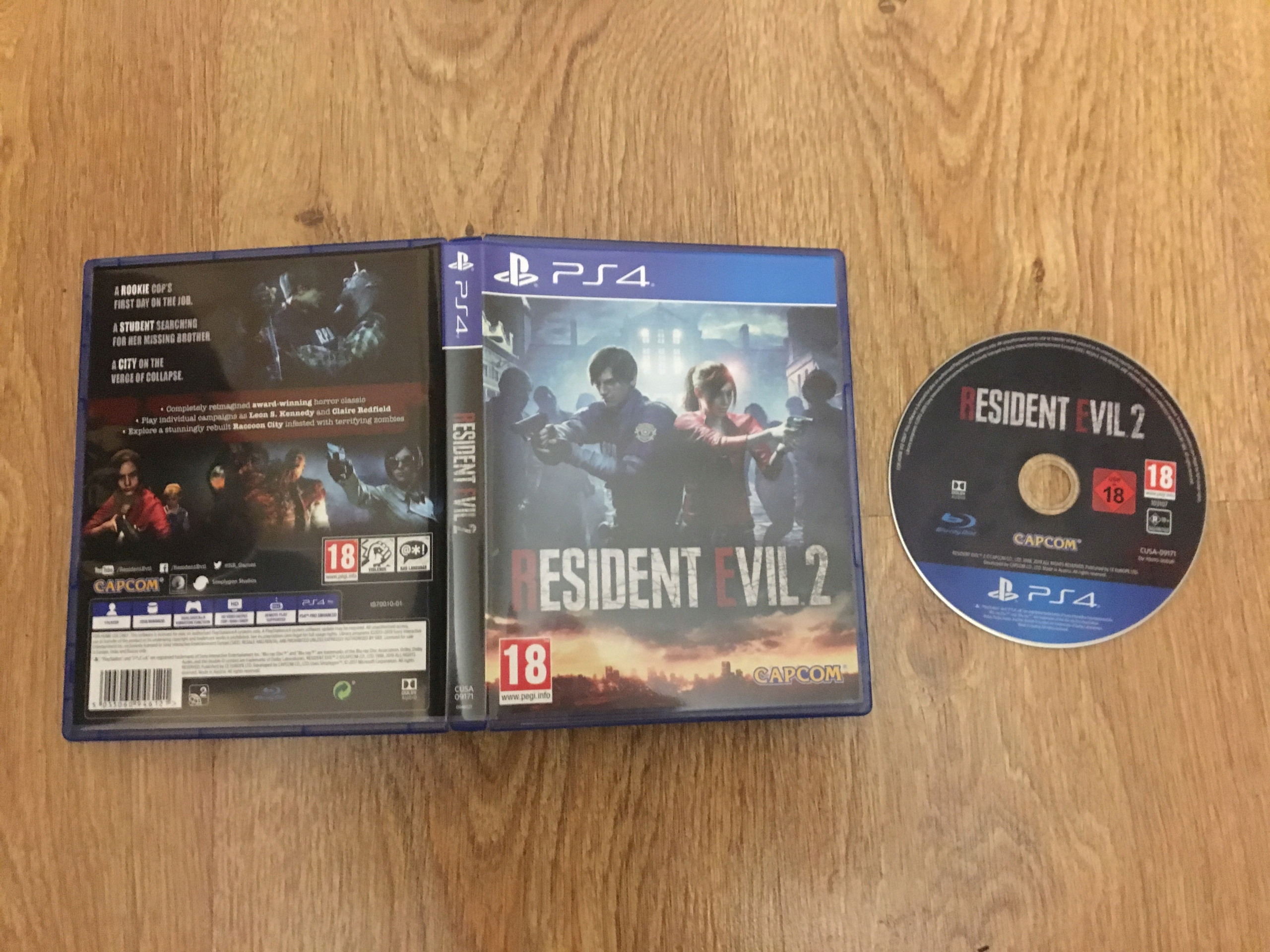 Resident Evil 2 Remake PS4, stan jak NOWY !!