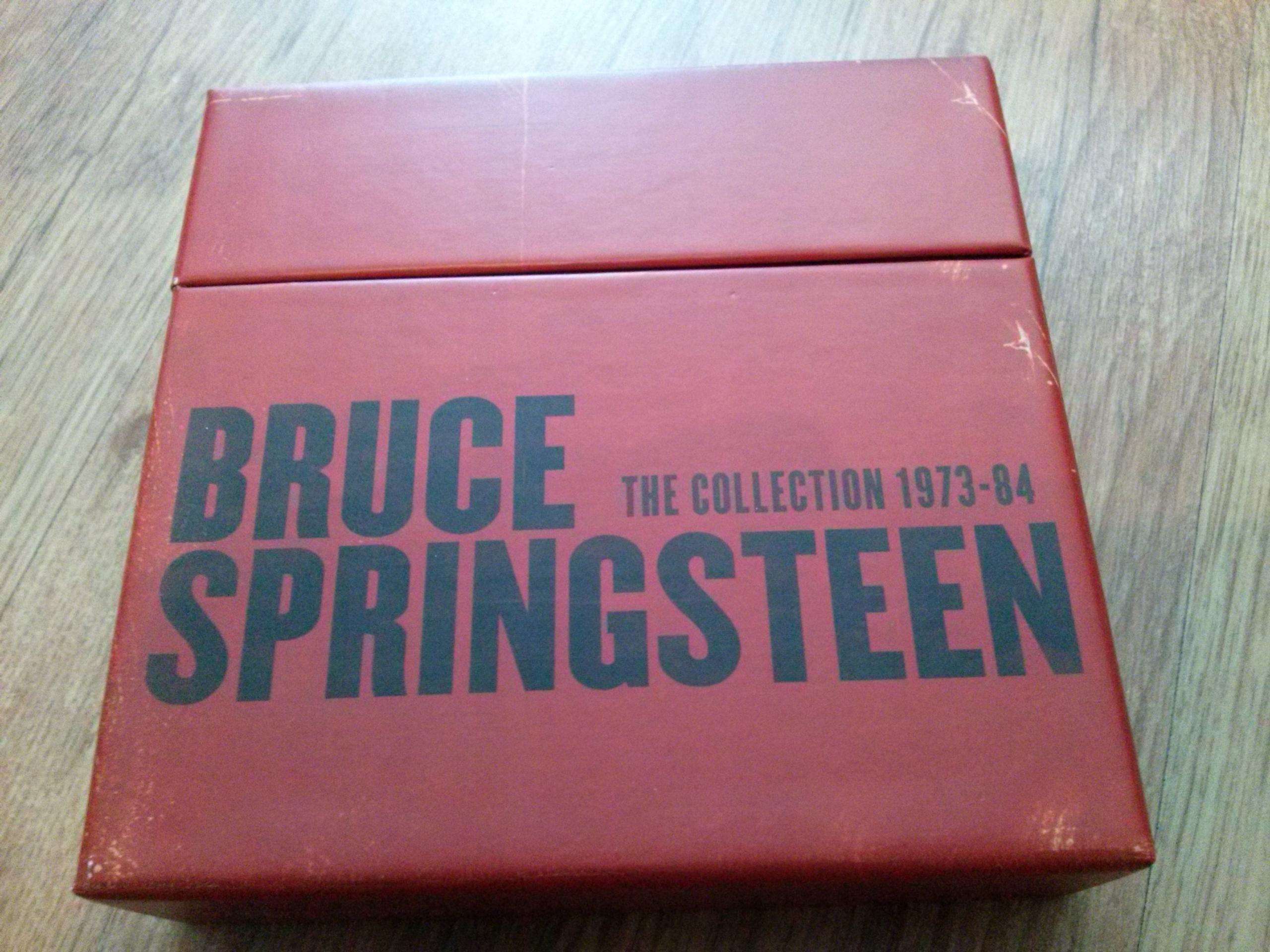 Bruce Springsteen pudełko box na płyty cd mini lp