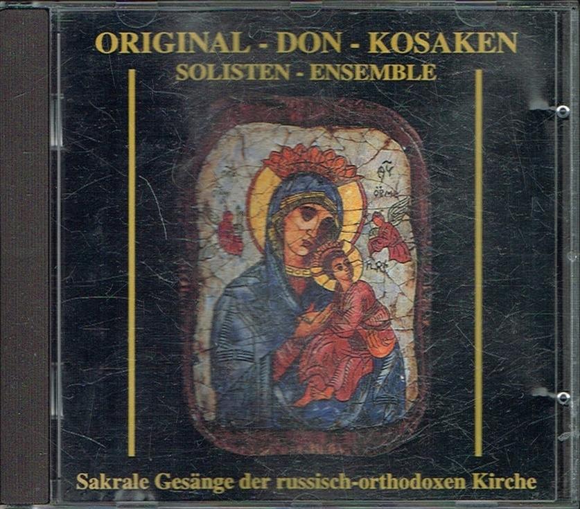 == Original Don Kosaken Sakrale Gesange CD ==
