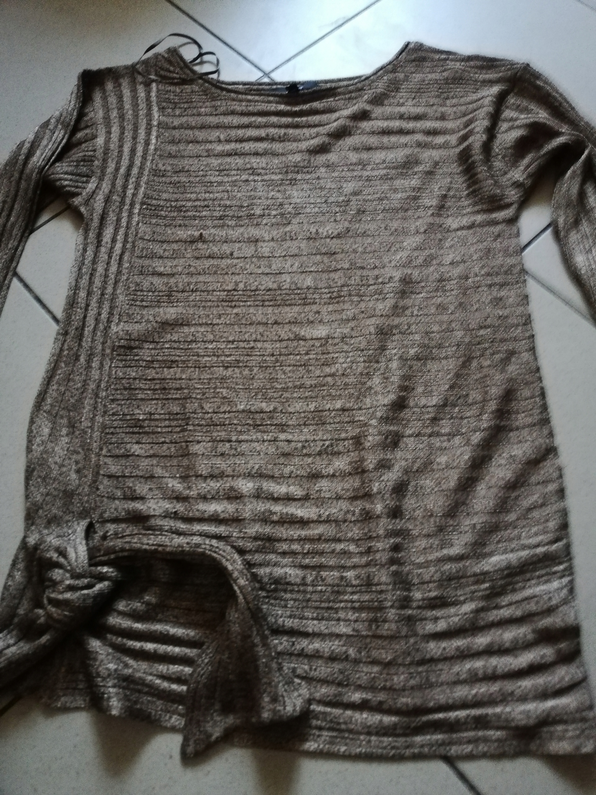 Sweter z dlugim rękawem Next rozm. M kolor złoty
