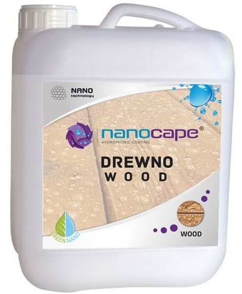 NANOCAPE WOOD impregnat do drewna hydrofobowy 5L