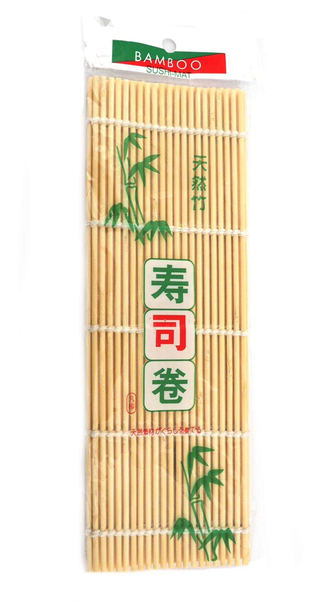 [WO] Mata do sushi, rozmiar 24x24cm okrągły bambus
