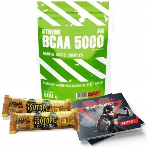 FA XTREME BCAA 5000 800G AMINO MIĘŚNIE 2X ISOTOPE!