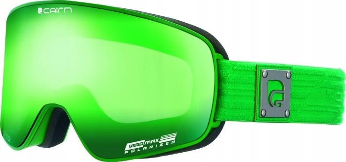 Cairn gogle Polaris Mat Green 2X SZYBA