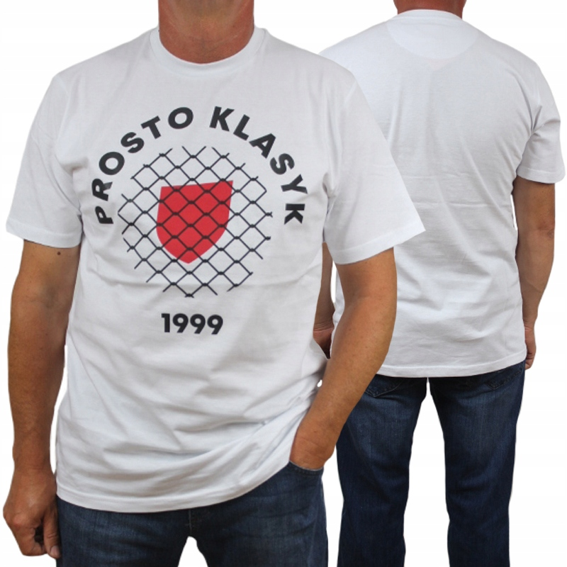 PROSTO koszulka FREESHIELD white + wlepa ARI roz L