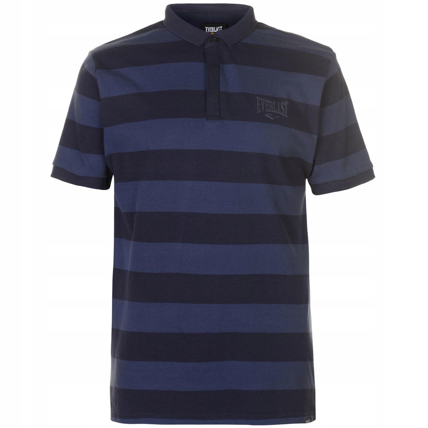 Koszulka POLO EVERLAST męska 100% bawełna Granat M