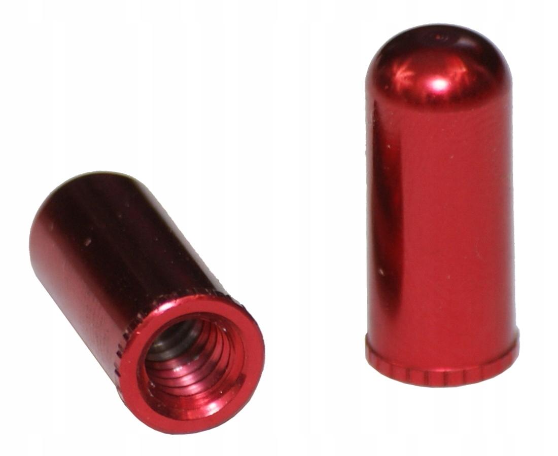 BOPLIGHT CC-002 czerwona nakrętka wentyla FV x2