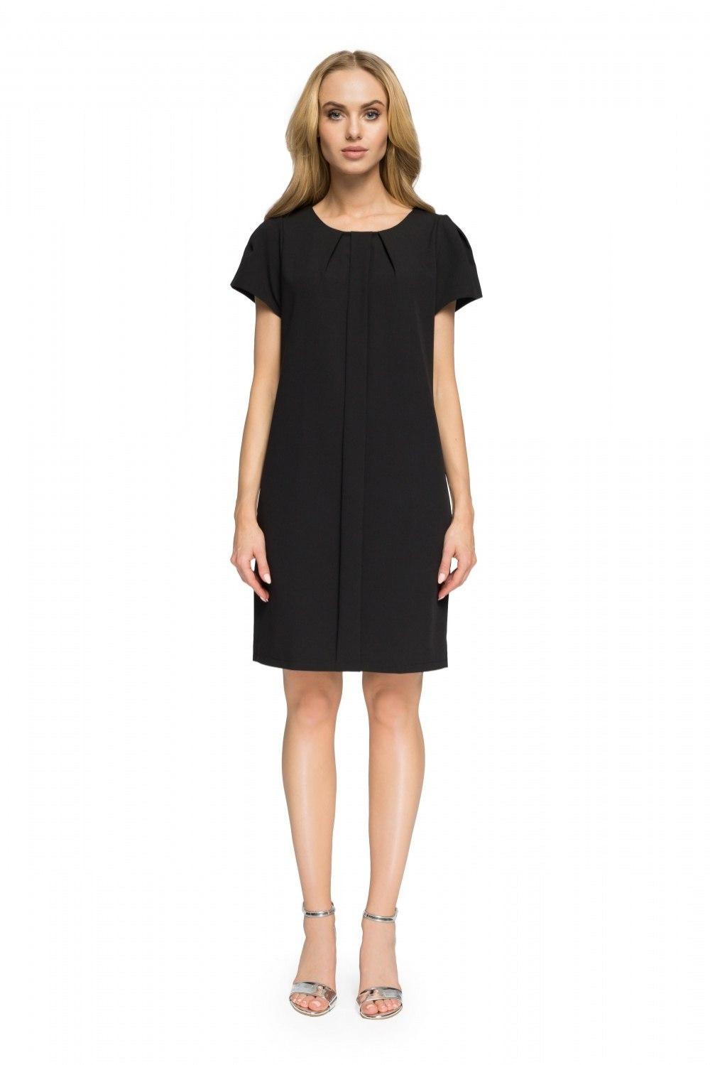 d87b99c78fc7c3 Sukienka Model S023 Black - 7229000294 - oficjalne archiwum allegro