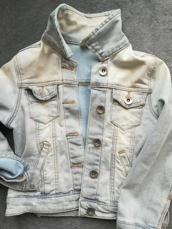 katana kurtka jeansowa Zara 116