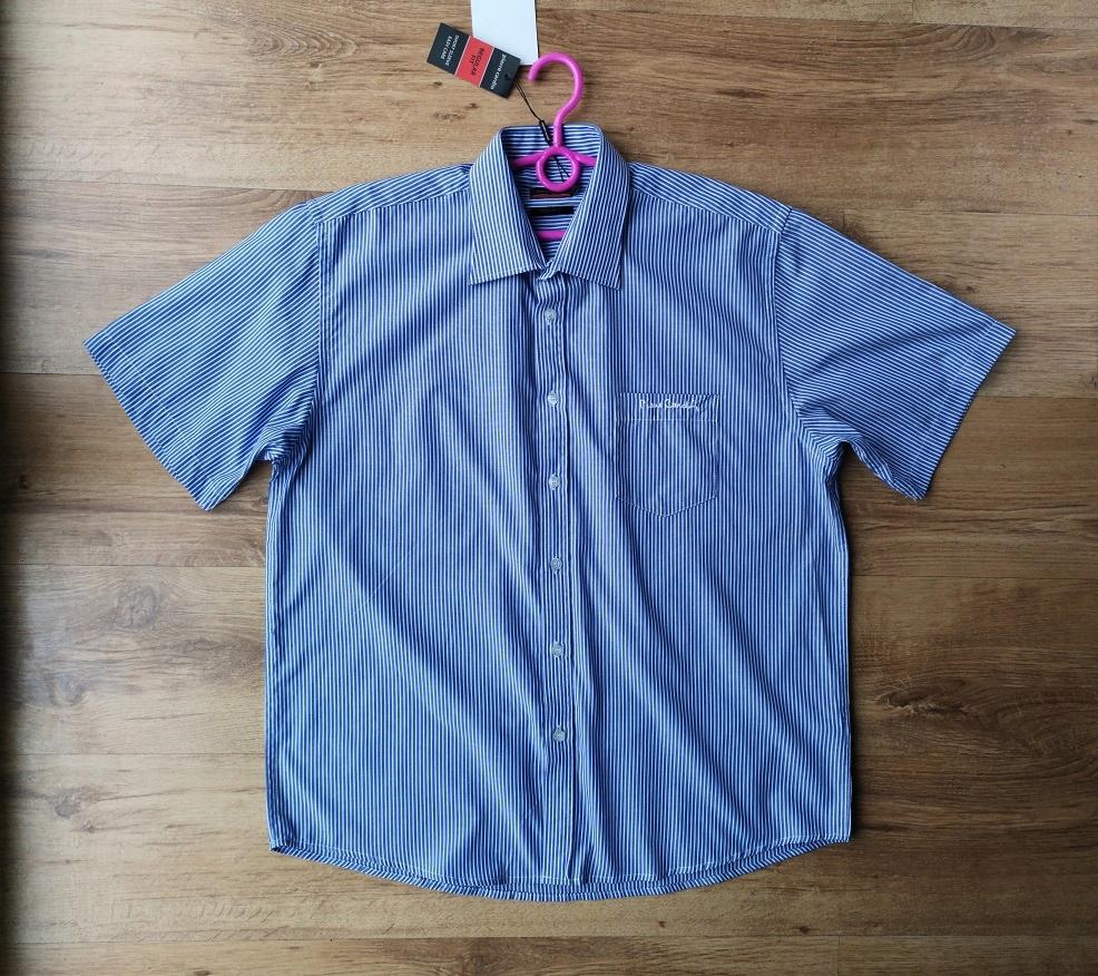 pirre cardin koszula męska regular FIT 42 XL