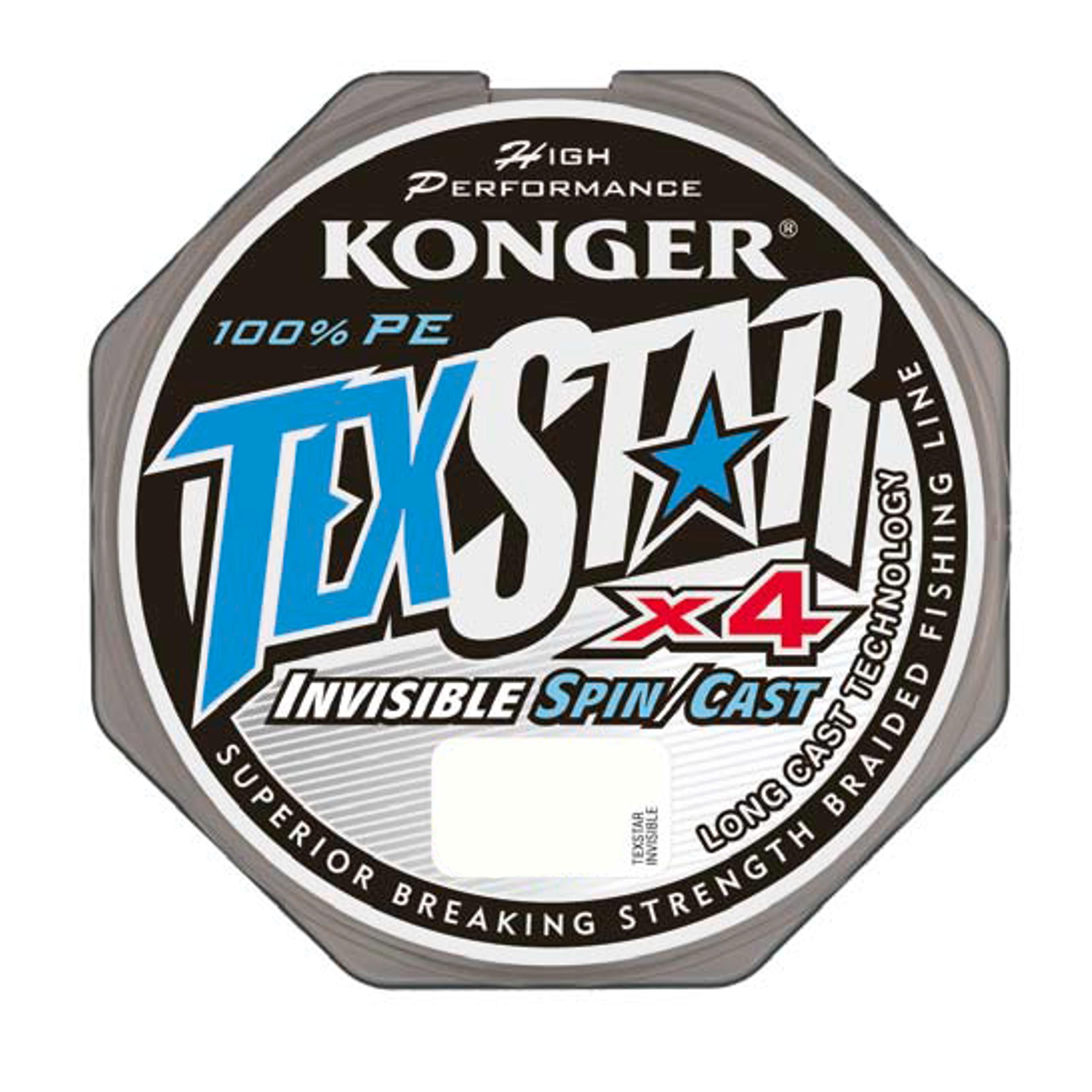 PLECIONKA Konger TexStar Invisible Spin/Cast 0,12