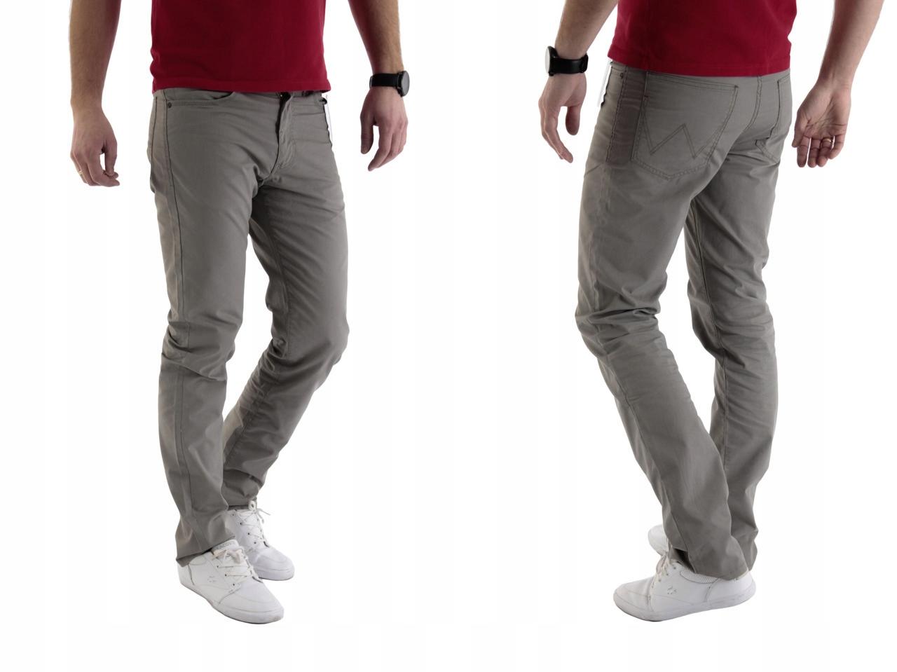 Wrangler Arizona Light Olive spodnie W32 L32