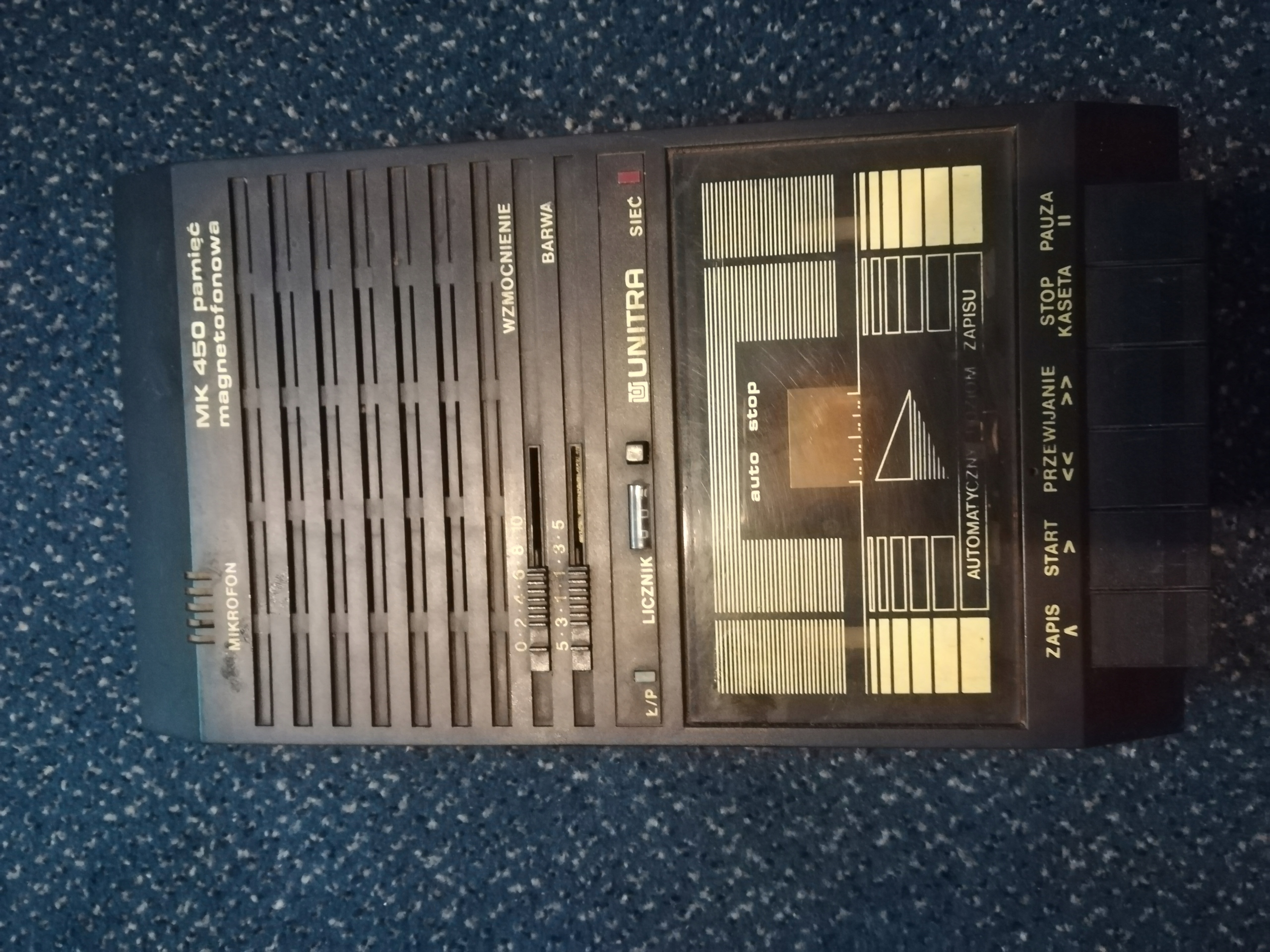 Magnetofon UNITRA MK 450 - pamięć magnetofonowa