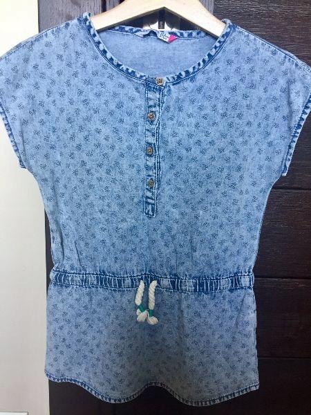 RESERVED tunika jeans 116/ 122 ideał bluzeczka