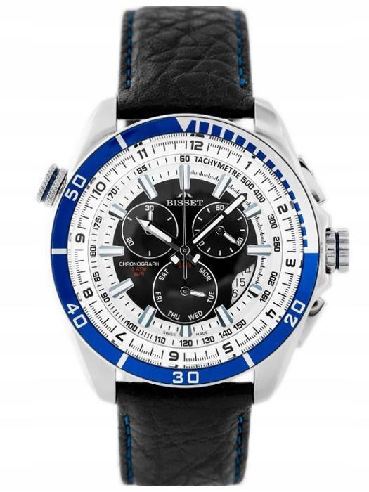Zegarek męski Bisset BSCC54 + PREZENT