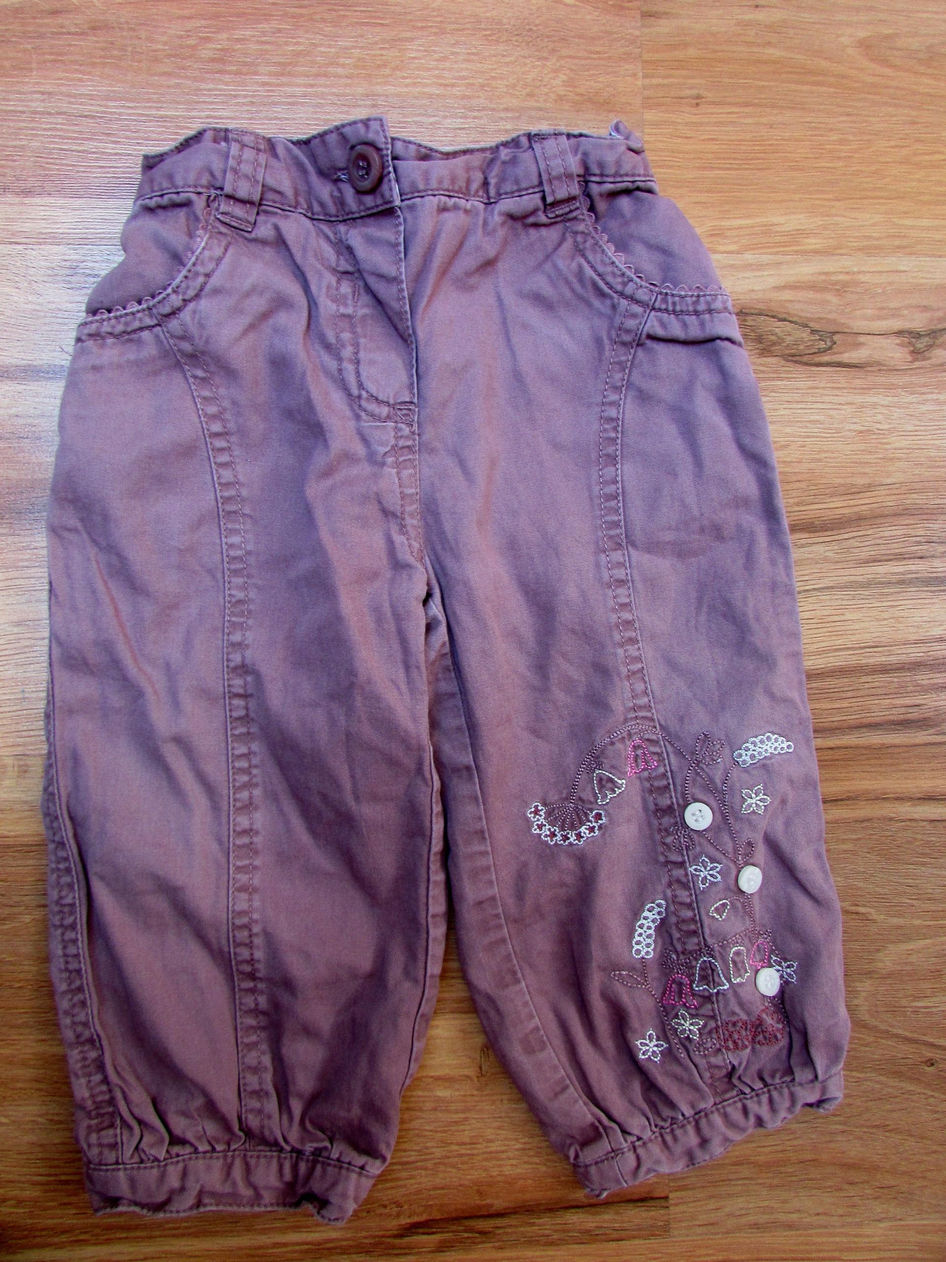 Spodnie Mothercare 9-12M, rozm 80