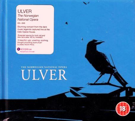 ULVER Live In Norwegian National Opera CD+DVD LUX