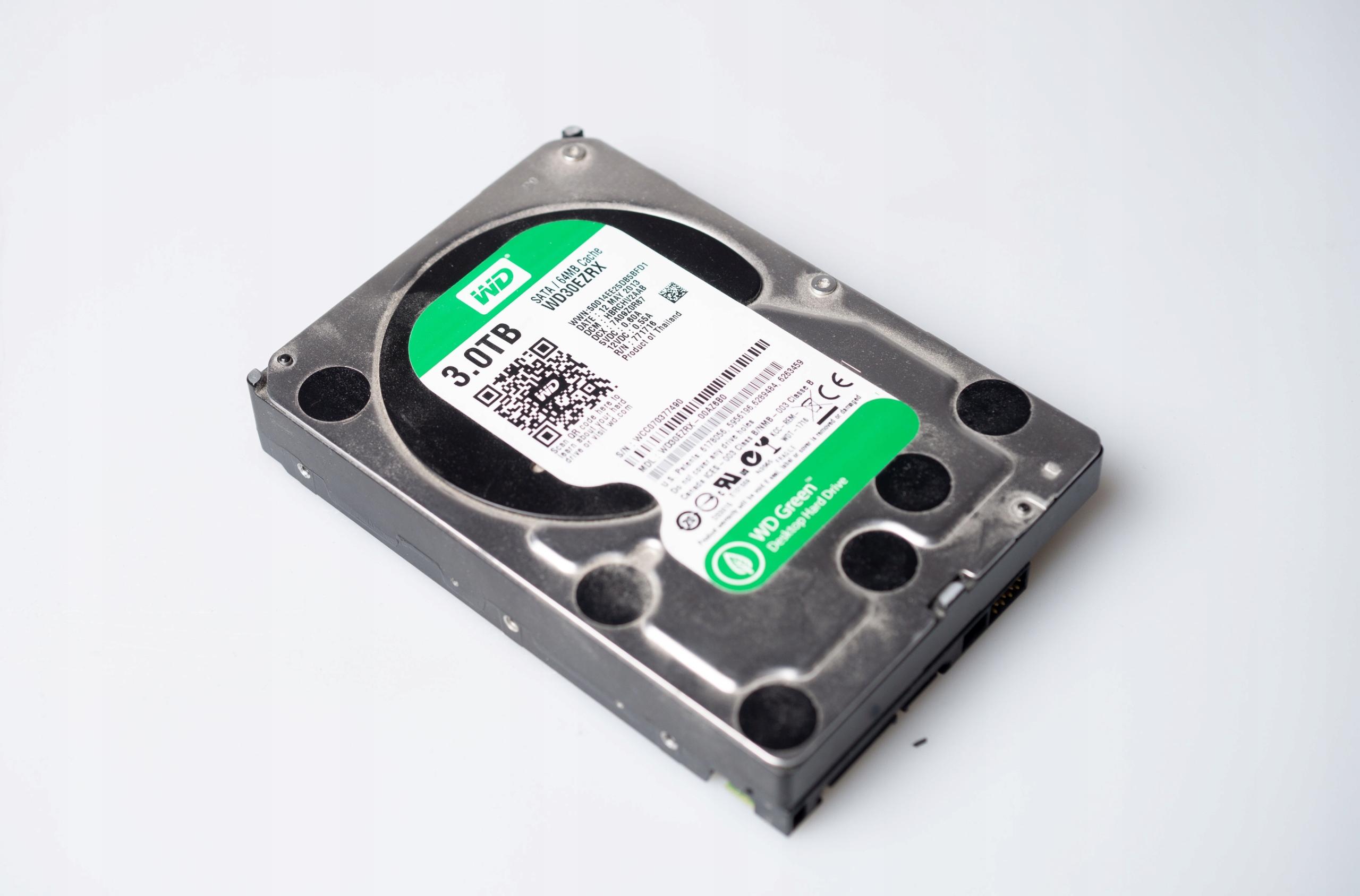 Dysk twardy Western Digital WD GREEN 3TB WD30EZRX