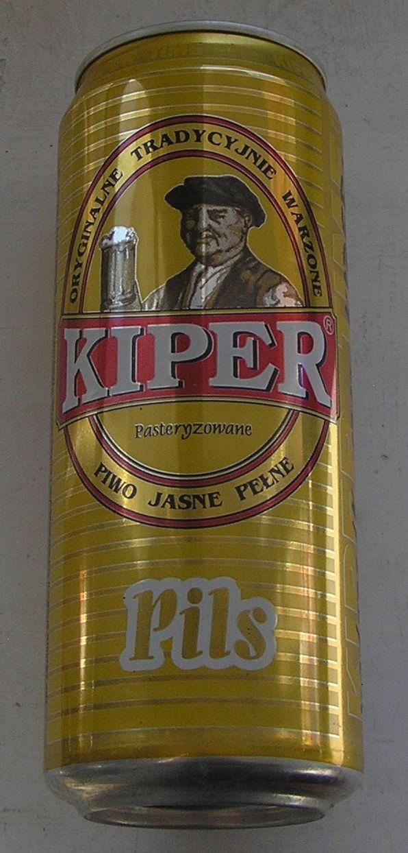 PUSZKA PIWO KIPER PILS PIOTRKÓW 1998